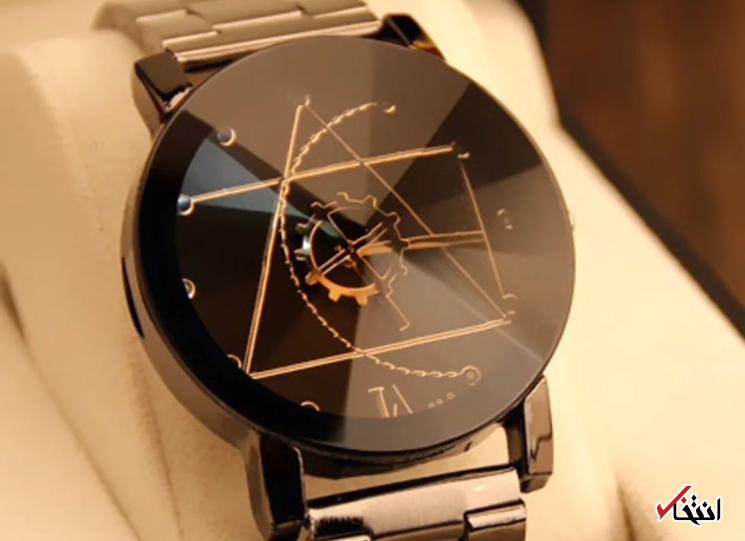 با زیباترین ساعت لاکچری سال آشنا شوید ، ظاهر بسیار زیبا ، ساخته شده از فولاد ضد زنگ