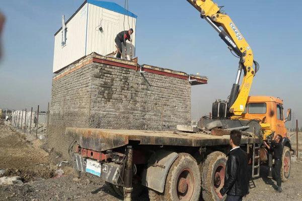 6 بنای غیرمجاز در اراضی کشاورزی قزوین قلع و قمع شد