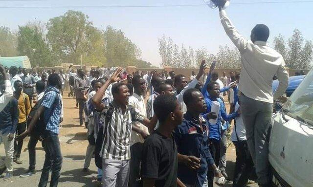 پلیس سودان تظاهرات خارطوم را با گاز اشک آور متفرق کرد