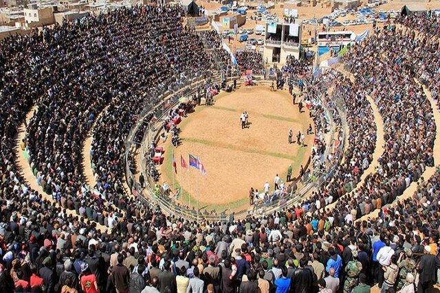 استادیومی طبیعی که هرساله تماشاچیانش بیشتر می گردد