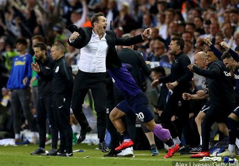 تیم فرانک لمپارد در یکقدمی صعود به لیگ برتر انگلیس، دربی کانتی یا استون ویلا؛ سومین صعودکننده به لیگ برتر