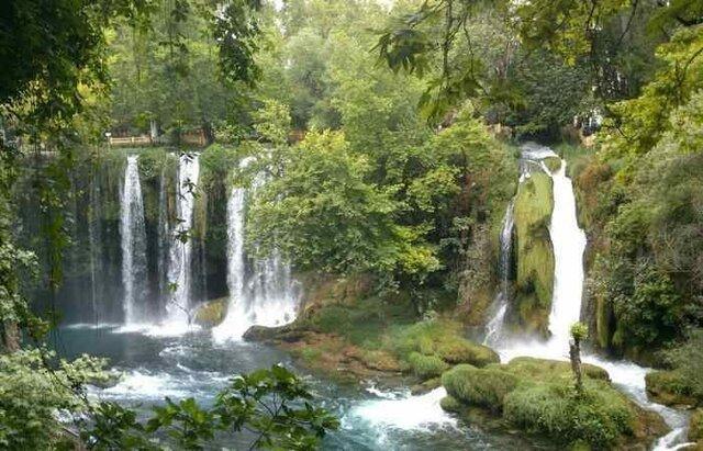 آبشارهای زیبای دودن آنتالیا در تور لحظه آخری