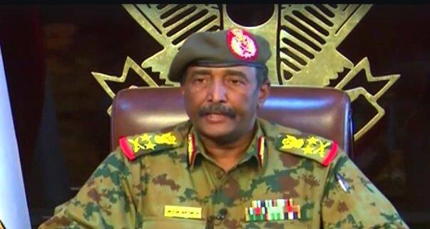 عبدالفتاح البرهان رئیس شورای حاکمیتی سودان می شود