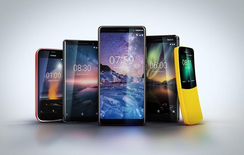 گوشی های نوکیا بیشترین سرعت را در دریافت اندروید پای داشته اند