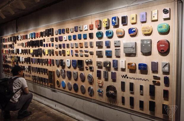 تصاویری از نمایشگاه 40 سالگی واکمن در ژاپن