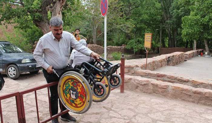 تاسیسات گردشگری برای معلولین مناسب سازی می گردد