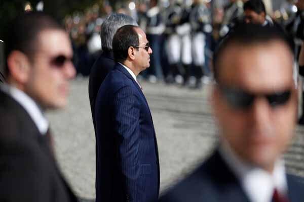 مصری ها خواستار سفر بی بازگشت السیسی از آمریکا هستند