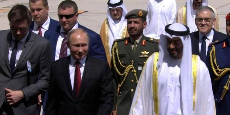 پوتین وارد امارات شد