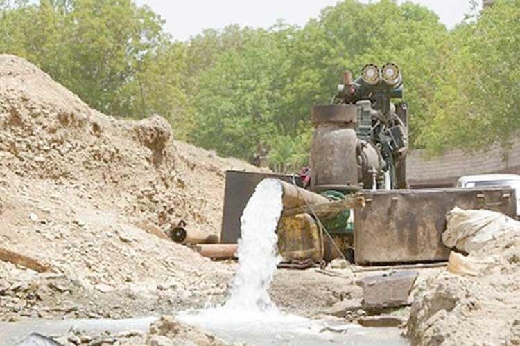 گذر از بحران خشکسالی با انسداد چاه های غیرمجاز