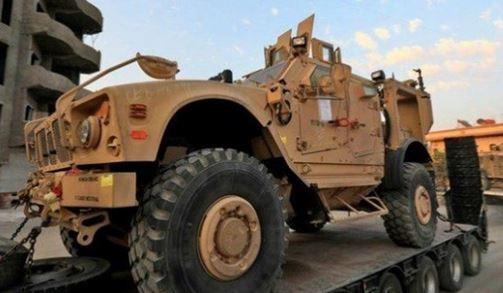 کاروان نظامی آمریکا از عراق وارد سوریه شد