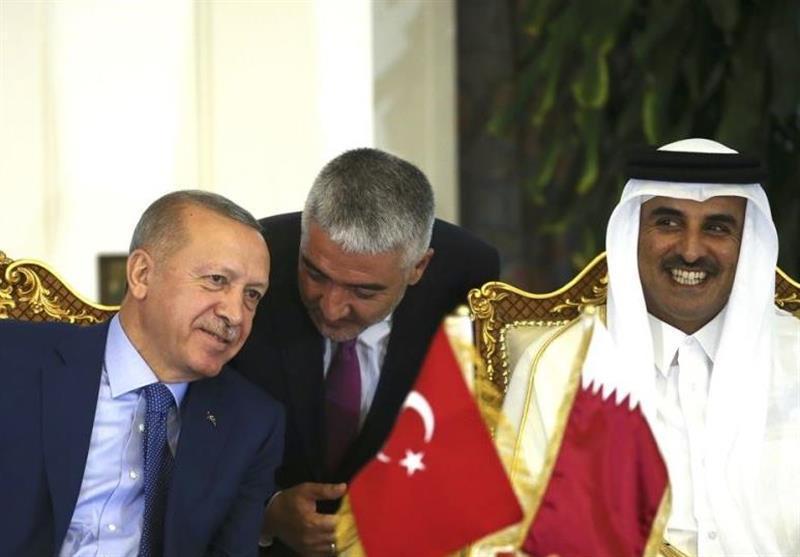 توییت شیخ تمیم درباره روابط قطر و ترکیه