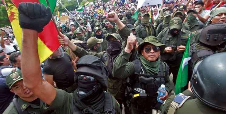 اتفاقات بولیوی کودتا بود