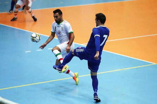 حریفان تیم ملی فوتسال ایران در مسابقات قهرمانی آسیا معین شد