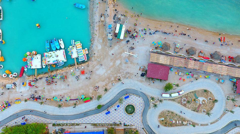 دهکده گردشگری پازارگاد عسلویه Marine tourism village of Pasargad