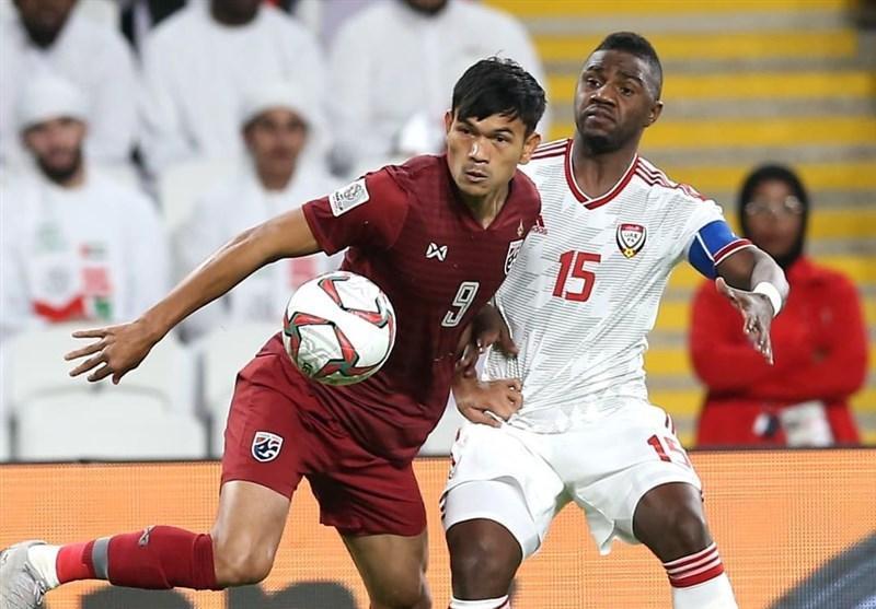جام ملت های آسیا، صعود امارات و تایلند به مرحله یک هشتم نهایی؛ هند حذف شد