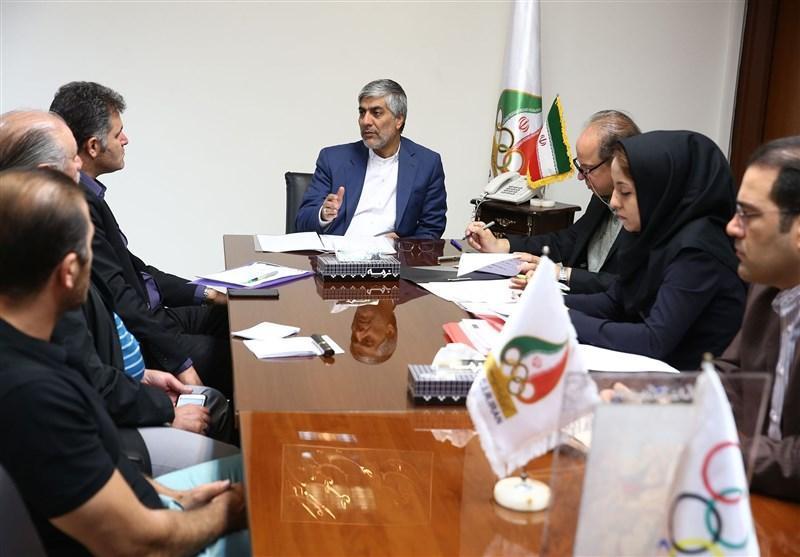 جلسه هاشمی با 3 رئیس فدراسیون برای حضور در بازی های داخل سالن و رزمی آسیا
