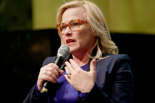 حمله بازیگر زن به دونالد ترامپ در گلدن گلوب