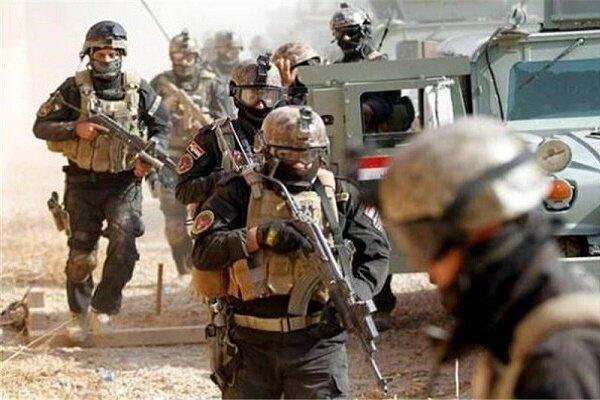 کشف و ضبط مقادیری از تسلیحات تکفیری ها توسط ارتش عراق