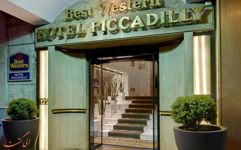 معرفی هتل 3 ستاره بست وسترن پیکادیلی در رم