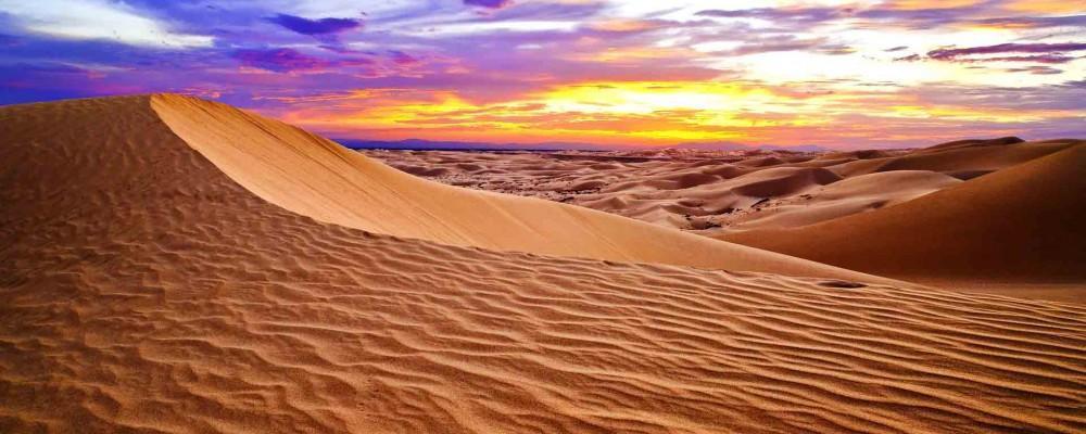 معروفترین بیابان ها و صحراهای جهان از جهات گوناگون