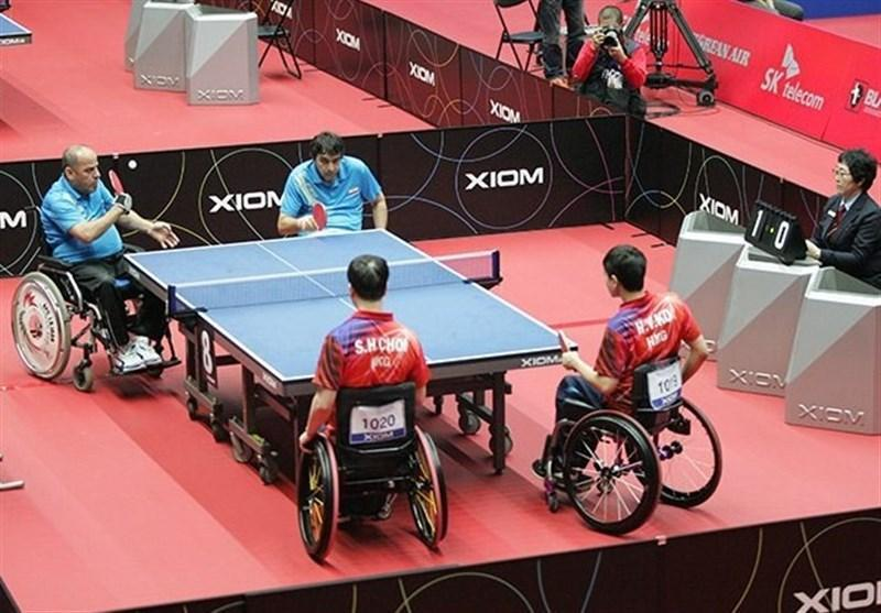 یک نقره و یک برنز برای پینگ پنگ بازان معلولان ایران در بخش تیمی