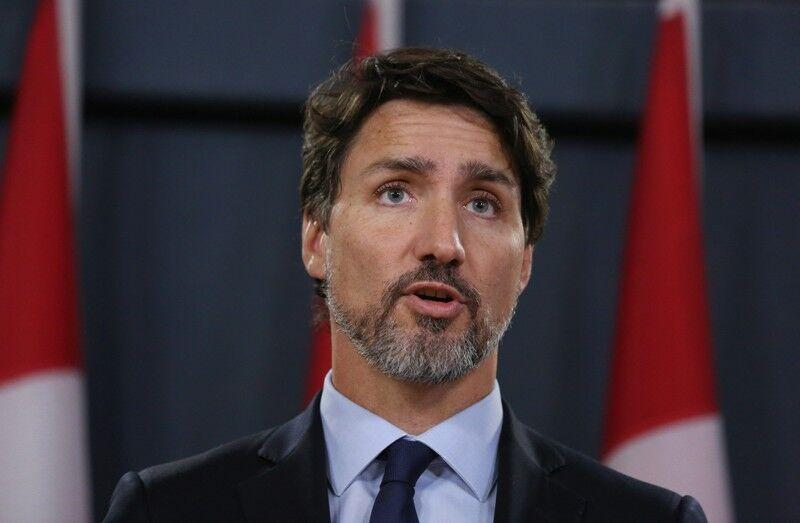 خبرنگاران نخست وزیر کانادا قرنطینه شد