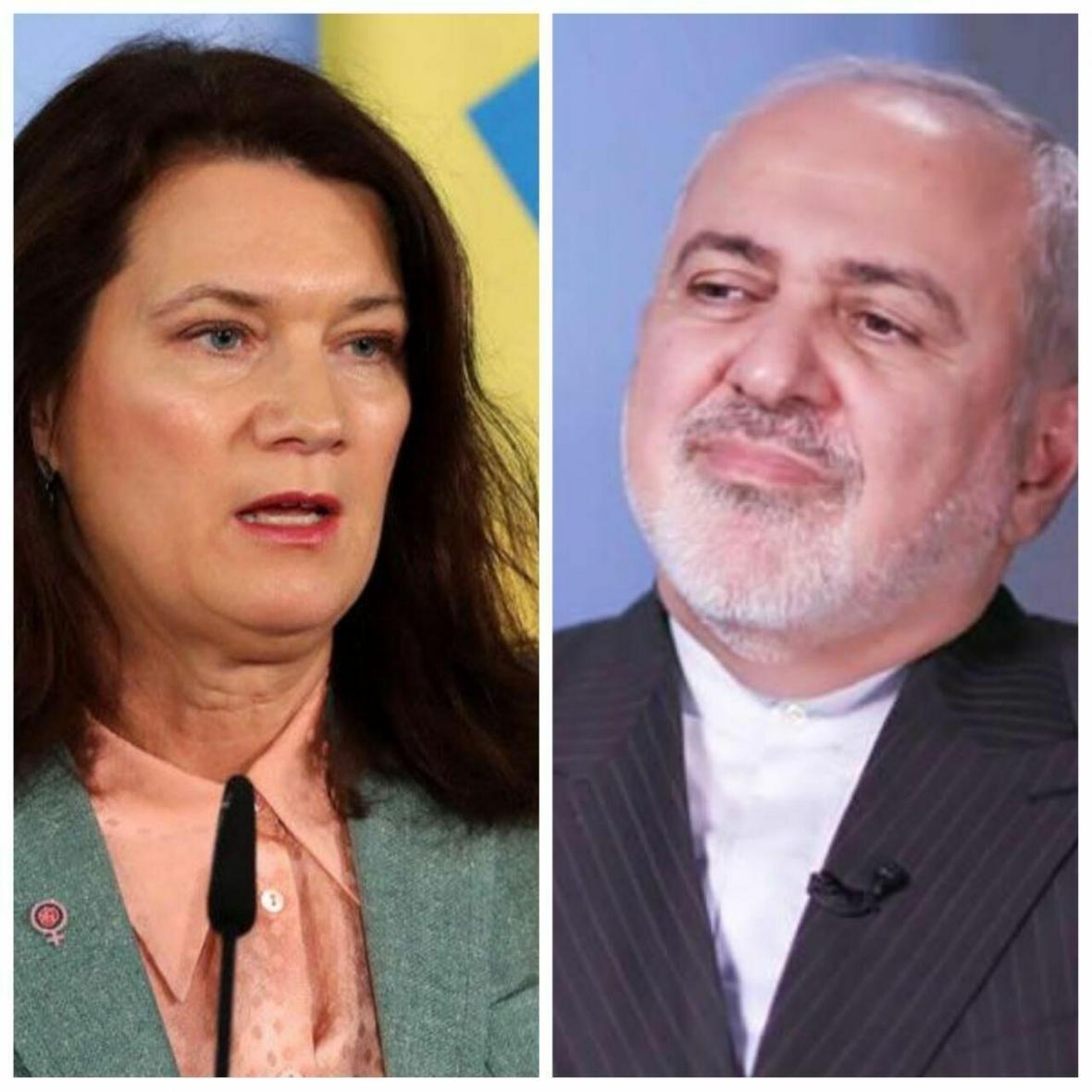 خبرنگاران وزرای خارجه سوئد و ایران در مورد مسائل دنیا گفتگو کردند