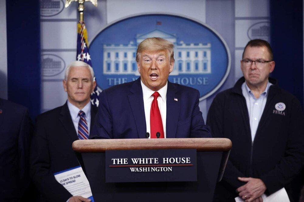 ترامپ در دو ایالت شرایط اضطراری گفت