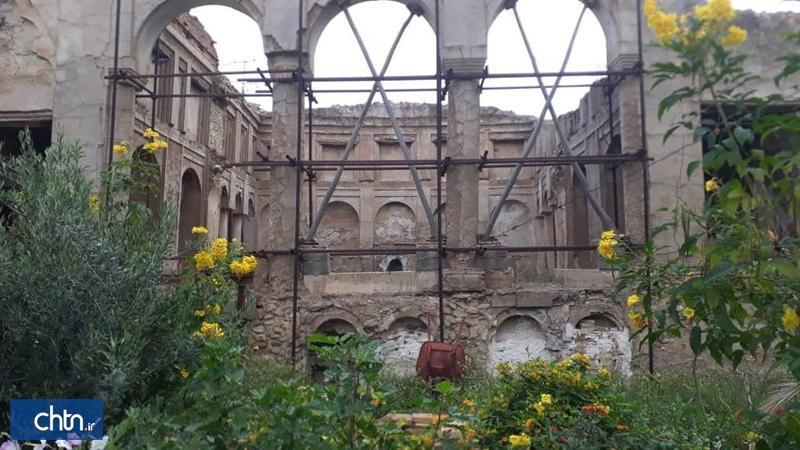 بنای تاریخی بهادر دیوان بهبهان به طور کامل مرمت می گردد