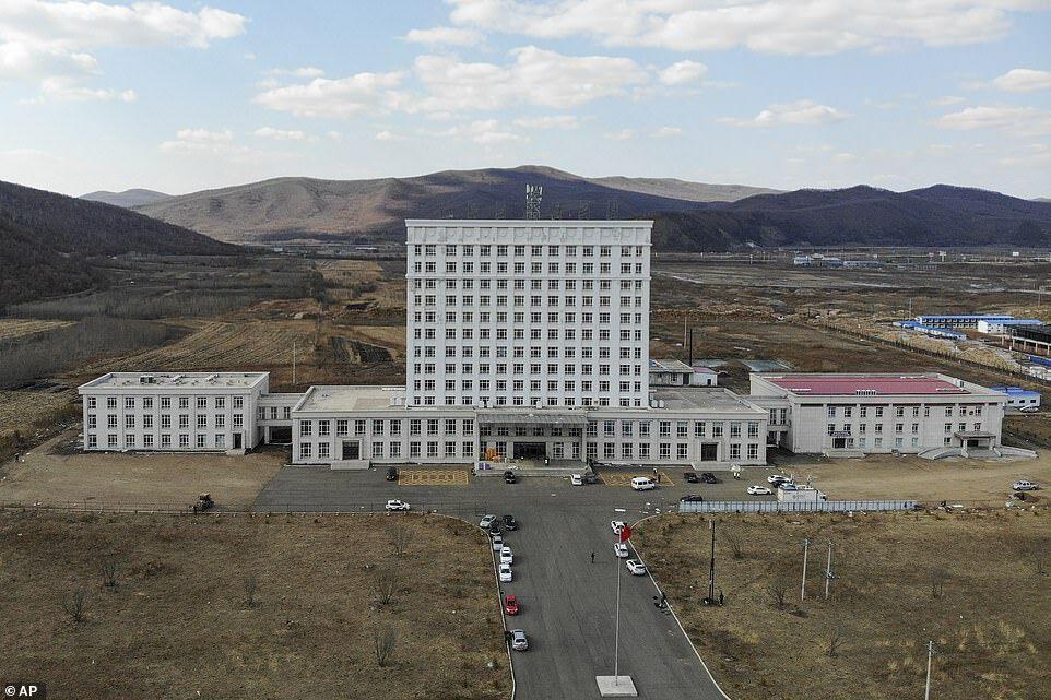 ساخت یک بیمارستان جدید در چین