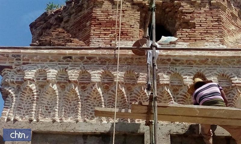بنای شاطرگنبد ساری بازسازی شد