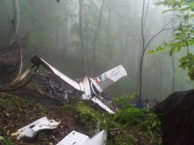 سقوط هواپیمای آموزشی ناجا در سلمانشهر