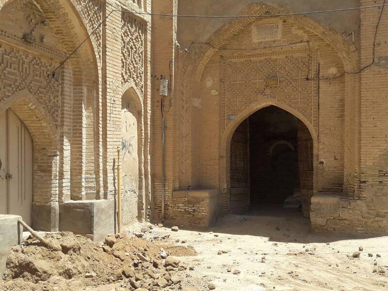 خبرنگاران بازسازی خانه تاریخی رحیمی در شوشتر شروع شد