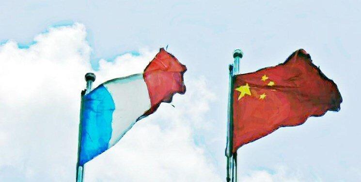 چین نگرانی اش را به فرانسه بیان نمود، پکن:پاریس منصرف شود