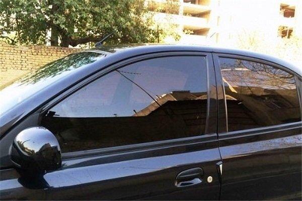 برخورد جدی با خودروهای شیشه دودی