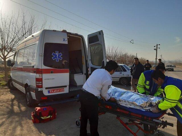 چهار مصدوم و 15 نجات یافته در پی حریق تعمیرگاه خودرو