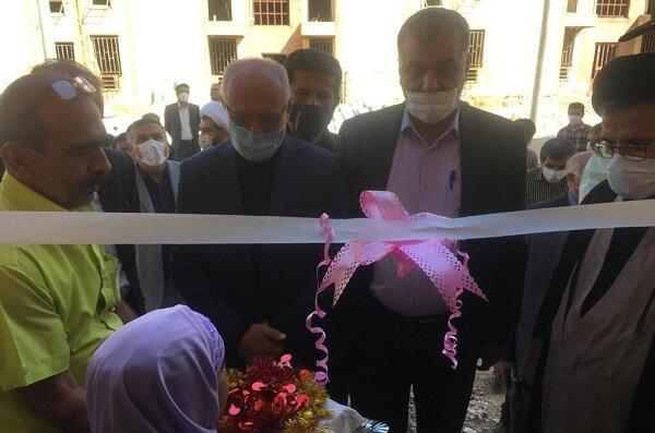 فاز اول مسکن مهر باغملک افتتاح شد