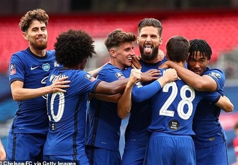 جام حذفی انگلیس، چلسی با غلبه بر منچستریونایتد به ایستگاه پایانی رسید، فینال تمام لندنی شد