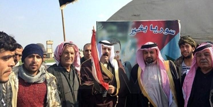 تأکید عشایر شرق سوریه بر مقابله با اشغالگری آمریکا و شبه نظامیان کُرد
