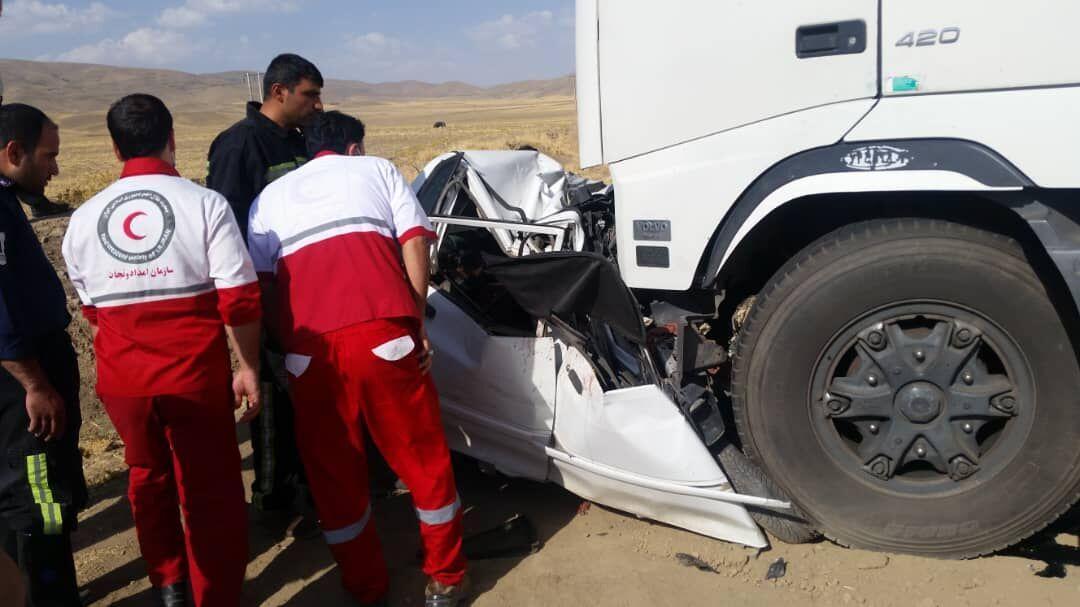 خبرنگاران حادثه رانندگی در جاده اردبیل - سرچم پنج کشته و 3 مصدوم برجا گذاشت