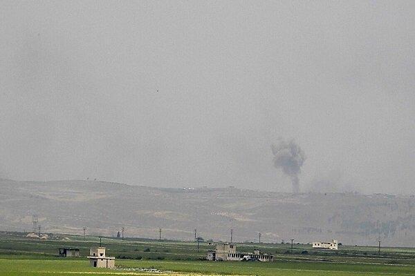 بمباران مواضع تروریستها در جنوب ادلب