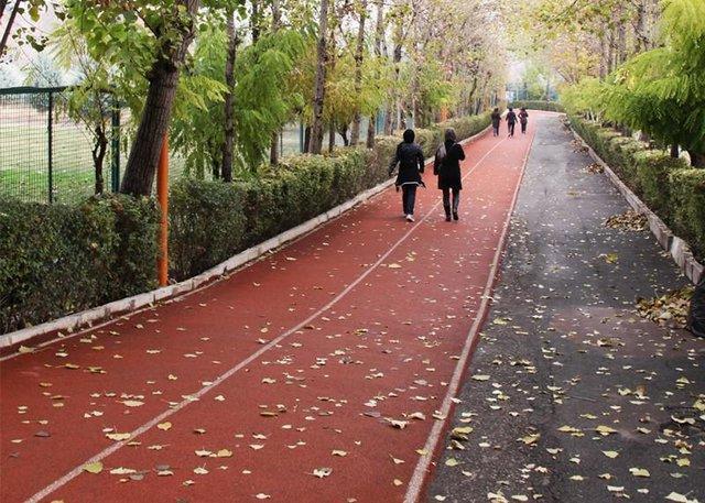 جاده تندرستی مجموعه ورزشی انقلاب از 6 آذر باز می گردد