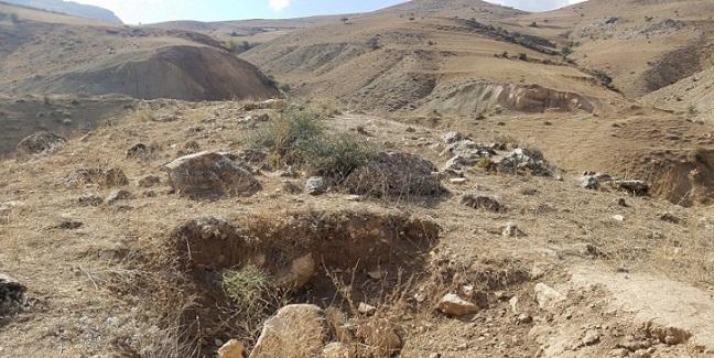 دستگیری 4 عامل حفاری غیرمجاز در اراضی روستای ارزیل شهرستان ورزقان