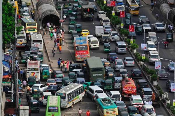شهرهایی که بدترین ترافیک را در ساعات شلوغی دارند