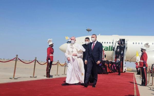 ورود پاپ به بغداد