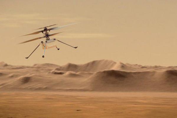 ناسا بالگردی را در مریخ به پرواز درخواهد آورد