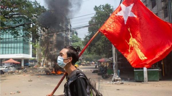 کشته های اعتراضات میانمار از 500 تن گذشت، اجرای اعتصاب زباله ای از سوی معترضان