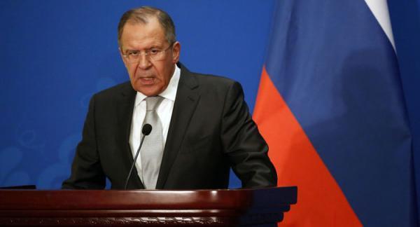 لاوروف رسما خاتمه همکاری با اروپا را بیان کرد