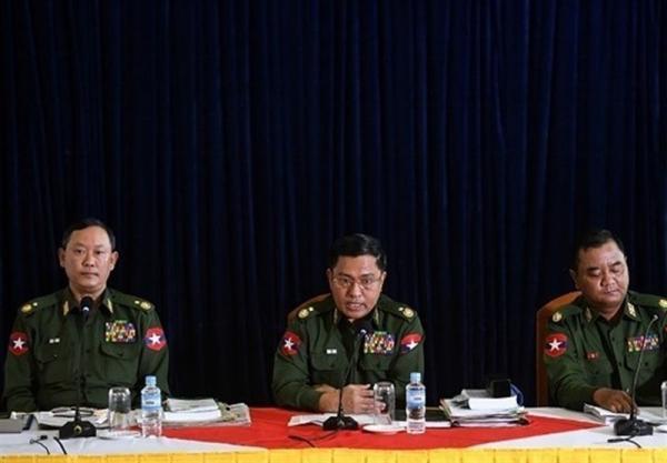 تاسف سخنگوی ارتش میانمار از کشته شدن مردم، اینترنت همچنان محدود خواهد بود