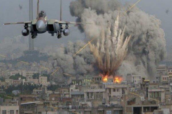 تداوم بمباران استان مأرب یمن توسط جنگنده های ائتلاف سعودی